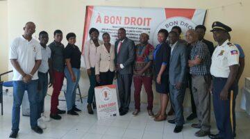 foto di gruppo del progetto a bon droit